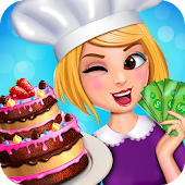 Little Chef Crazy Cake Master: Cooking Game