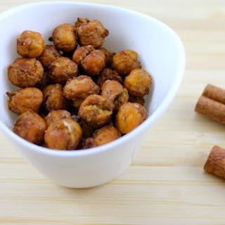 Cinnamon Chickpea Crispies.