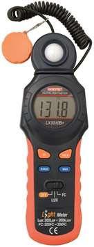 Luxmeter 0-200k Lux