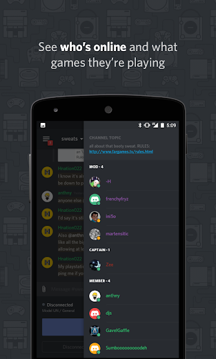 Screenshot 3 for Discord's Android app'