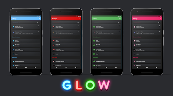 Glow Substratum Theme- screenshot thumbnail