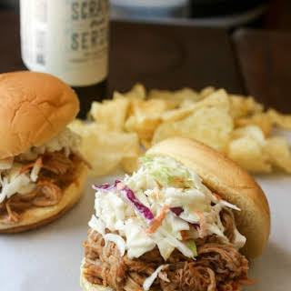 Slow Cooker BBQ Pulled Pork Sandwiches.