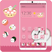 cartoon app-pink themes