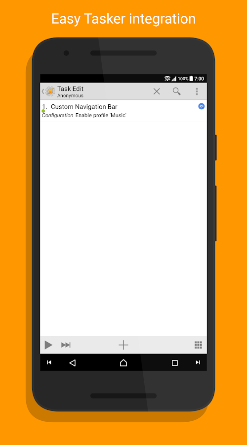 Custom Navigation Bar- screenshot