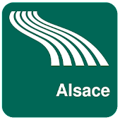 Alsace Map offline