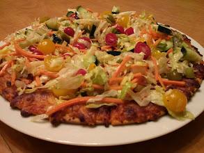 "Photo: ""Subway Style"" Veggie Pizza"