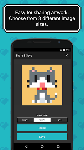 8bit Painter - Pixel Art Drawing App 1.8.2 Screenshots 5
