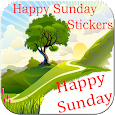 Happy Sunday stickers for whatsapp