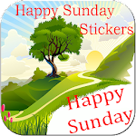Happy Sunday stickers for whatsapp Icon