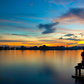 Color twilight by Muhamad Aris - Landscapes Waterscapes