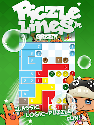 Piczle Lines Jr. Green APK screenshot thumbnail 1