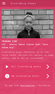 Livsviktig Poesi- screenshot thumbnail