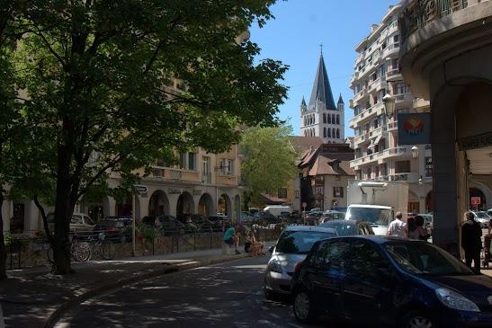 Туристический маршрут по Анси - церковь Нотр-Дам де Льес, Анси