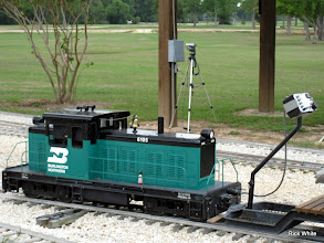 Photo: Ken Smith's BN 6105 with Mary Lou Pasley's camera in the background taking 1 frame a minute all day.    HALS 2009-0919