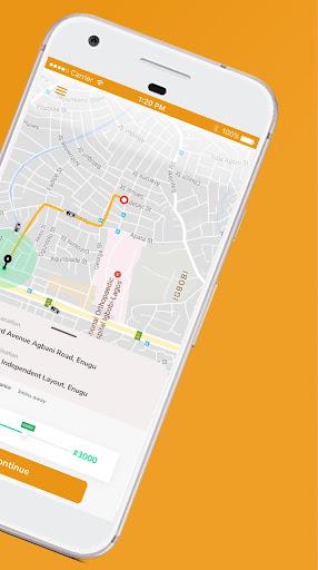 rideon.ng - taxi hailing app screenshot 2