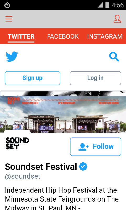 Soundset Festival 2017- screenshot