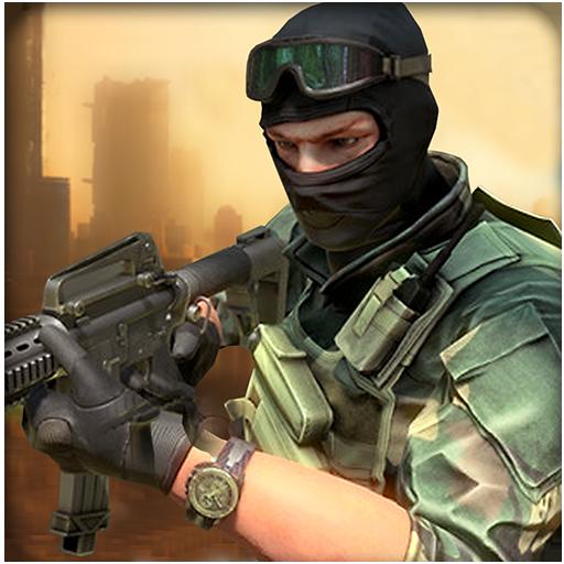 动作のターゲット狙撃都市2016 - 3D LOGO-記事Game