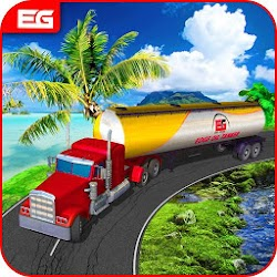 Oil Tanker Truck Transporter Driving Simulation 3D