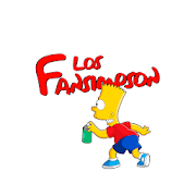 Los Fansimpson Stickers