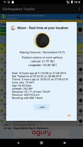 Earthquakes Tracker 2.4.7 screenshots 6