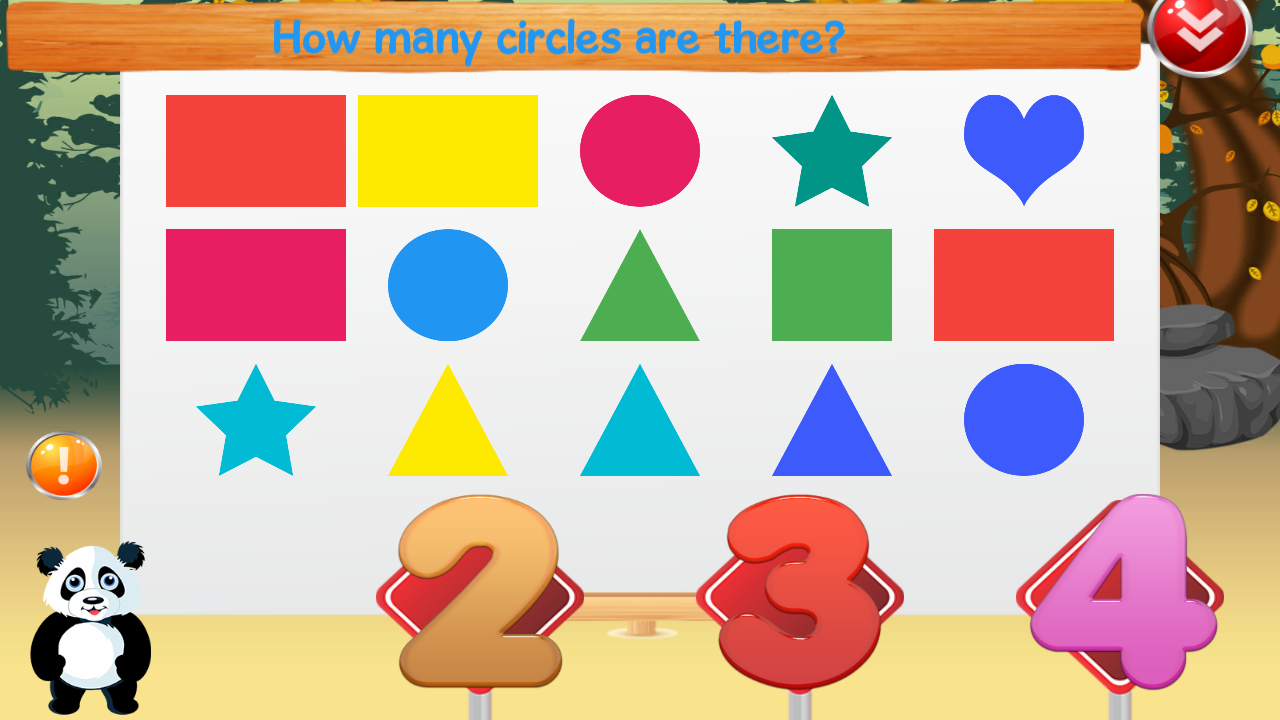 Worksheet Preschool Math panda preschool math android apps on google play screenshot