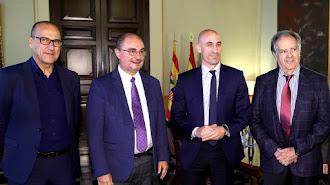 """Lambán: """"Soy favorable a la pretensión del Real Zaragoza de jugar con público""""."""