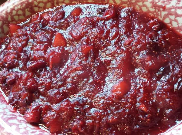 Traditional Cranberry Relish Recipe