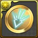 竜(ドラゴン)の紋章メダル【金】