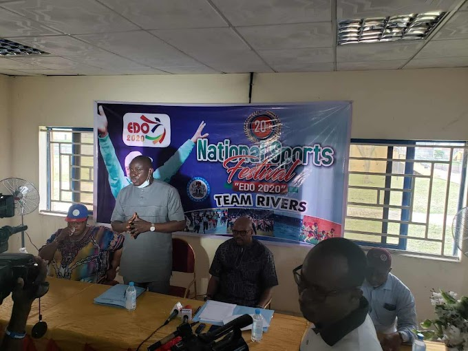 National Sports Festival: Rivers State Government Confident of A Colourful Outing