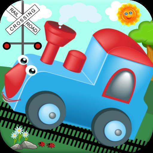 火车游戏的孩子!游离 教育 LOGO-玩APPs