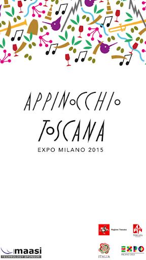 Appinocchio Toscana Expo 2015