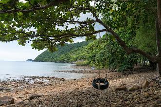 "Photo: ""Ông Đụng"" beach, this beach has a coral floor, not sand floor as usual..."
