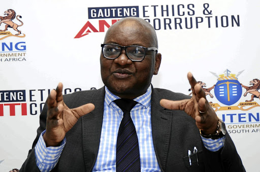 Gauteng premier David Makhura says people are getting impatient with all talk and no action against corruption. /Mduduzi Ndzingi