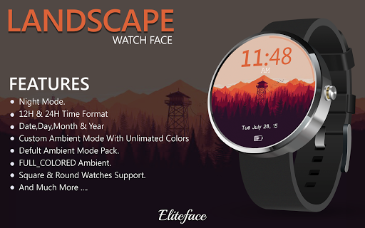 LANDSCAPE Watch Face