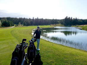 Photo: White Horse Golf Club in Kitsap County near Kingston, owned by the Suquamish Tribe