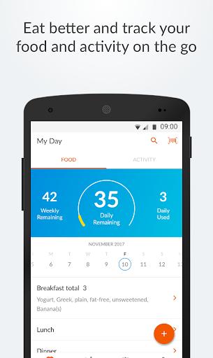 Weight Watchers Mobile screenshot