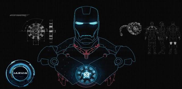 Homem De Ferro Papel De Parede Animado