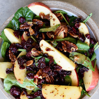 Spinach Salad With Dried Cranberries Walnuts Recipes