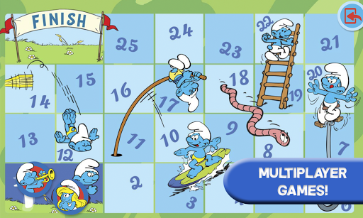 Smurfs and the four seasons apktram screenshots 8