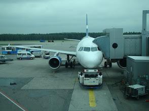 Photo: Airbus von Helsinki nach München