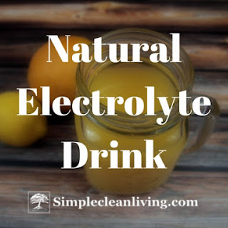 Natural Electrolyte Drink