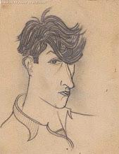 Photo: Автопортрет Виктора Некрасова, карандаш, 1929