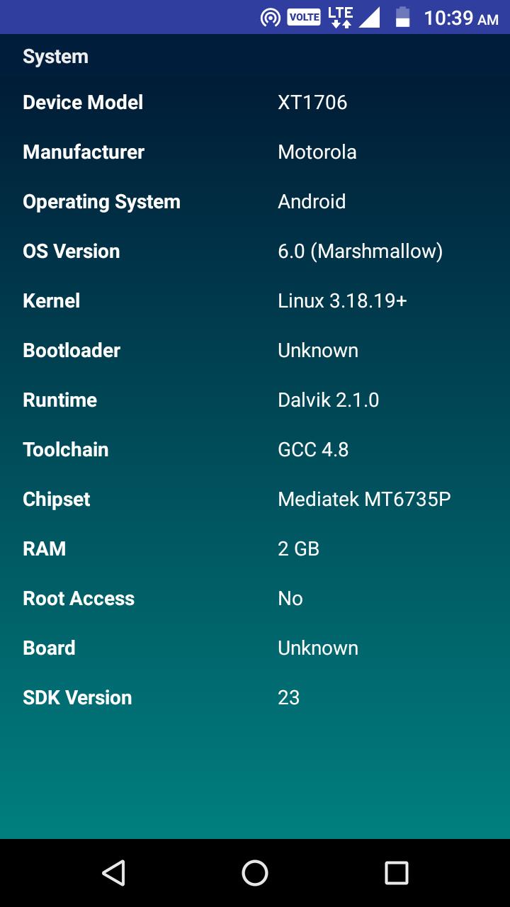 CPU Identifier Screenshot 2
