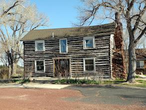 Photo: Beautiful old log cabin
