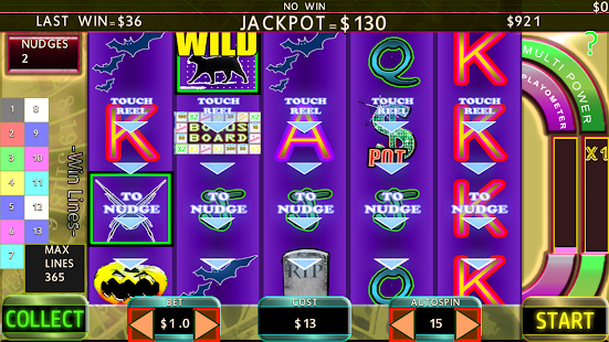 Creepy Slots Nudge 365 bet free - náhled