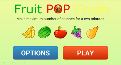 Fruit pop crush