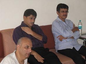 Photo: Hemant Kathikar, Chaitanya Kalyanpur, Mr. Ajay Madan