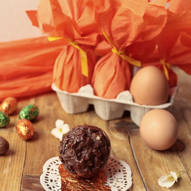 Wrapped Chocolate Eggs Recipe