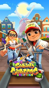 Subway Surfers Apk MOD (Money/Coins/Key) for Android 1