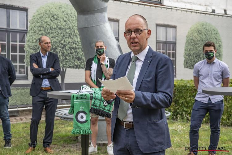 """""""Le Club de Bruges a acheté le titre"""" : une déclaration maladroite que le président du Cercle explique"""